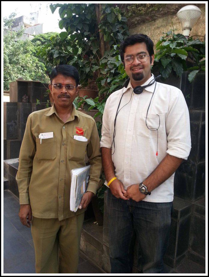Me and Postman kaka