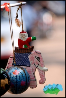 Now that is Christmas in India!