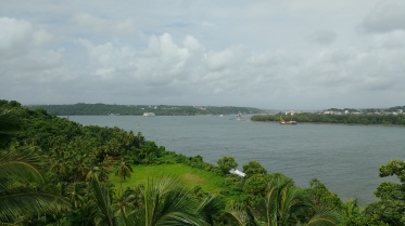 View from the fort